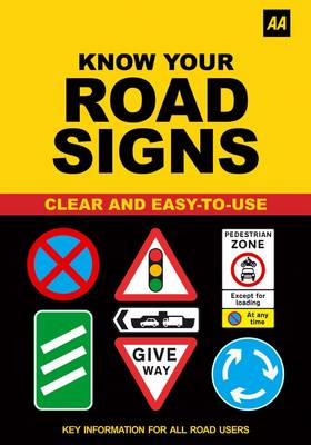 AA Know Your Road Signs (BOK)