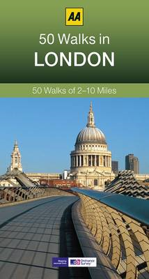 50 Walks in London (BOK)