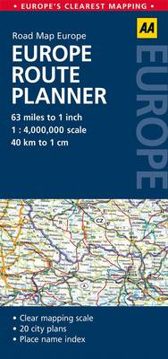 Europe Route Planner (BOK)