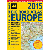 Big Road Atlas Europe 2015 (BOK)