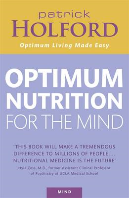 Optimum Nutrition For The Mind (BOK)