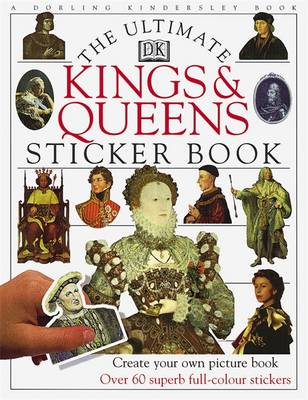 Kings and Queens Ultimate Sticker Book (BOK)