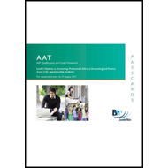 AAT - Professional Ethics in Accounting and Finance: Passcards (BOK)