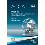 ACCA - P7 Advanced Audit and Assurance (GBR): Study Text (BOK)