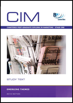 CIM - Emerging Themes: Study Text (BOK)