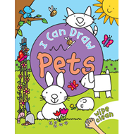 I Can Draw: Pets (BOK)
