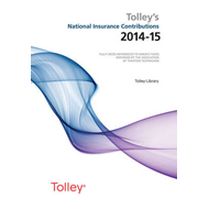 Tolley's National Insurance Contributions 2014-15 Main Annua (BOK)