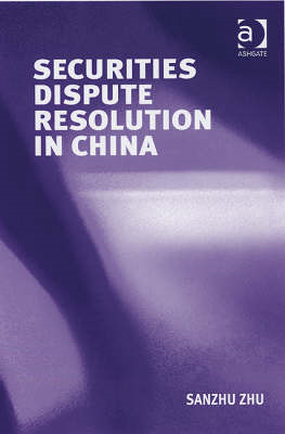 Securities Dispute Resolution in China (BOK)