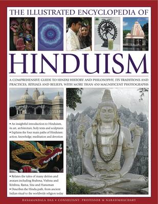The Illustrated Encyclopedia of Hinduism: A Comprehensive Guide to Hindu History and Philosophy, Its (BOK)