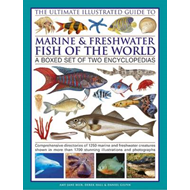 The Ultimate Illustrated Guide to Marine and Freshwater Fish of the World: a Boxed Set of Two Encycl (BOK)
