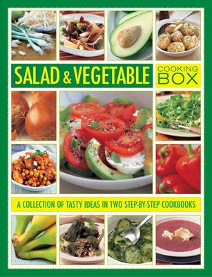 Salad & Vegetable Cooking Box: A Collection of Tasty Ideas in Two Step-by-step Cookbooks (BOK)