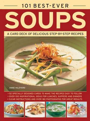 101 Best-Ever Soups: A Card Deck of Delicious Step-by-Step Recipes (in a Tin) (BOK)