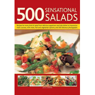 500 Sensational Salads: Recipes for Every Kind of Salad from Delicious Appetizers and Side Dishes to (BOK)