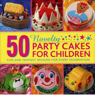 50 Novelty Party Cakes for Children (BOK)