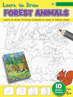 Learn to Draw - Forest Animals (BOK)