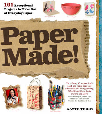 Paper Made!: 101 Exceptional Projects to Make Out of Everyday Paper (BOK)
