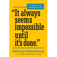 "Produktbilde for ""It Always Seems Impossible Until It's Done."" - Motivation for Dreamers & Doers (BOK)"