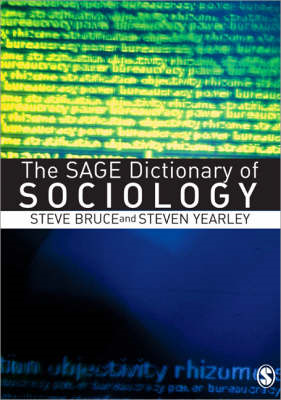 The Sage Dictionary of Sociology (BOK)