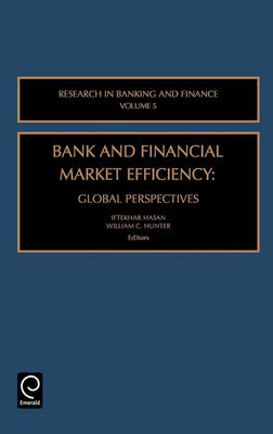 Bank and Financial Market Efficiency: Global Perspectives (BOK)