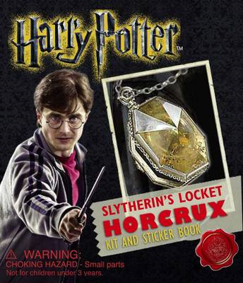Harry Potter Locket Horcrux Kit and Sticker Book (BOK)