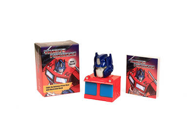 Transformers: Light-Up Optimus Prime Bust and Illustrated Book (BOK)