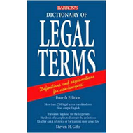 Dictionary of Legal Terms (BOK)