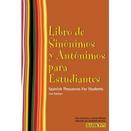 Spanish Thesaurus for Students (BOK)