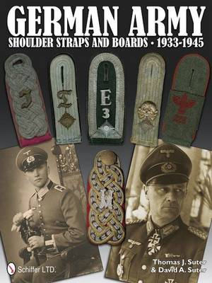 German Army Shoulder Boards and Straps 1933-1945 (BOK)