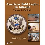 American Bald Eagles in Intarsia (BOK)