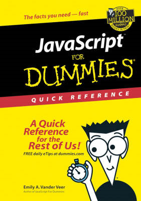 JavaScript for Dummies Quick Reference (BOK)