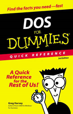 DOS for Dummies Quick Reference (BOK)
