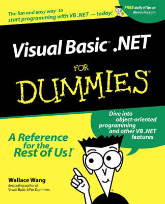 Visual Basic.NET For Dummies (BOK)