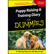 Puppies Raising and Training Diary For Dummies (BOK)
