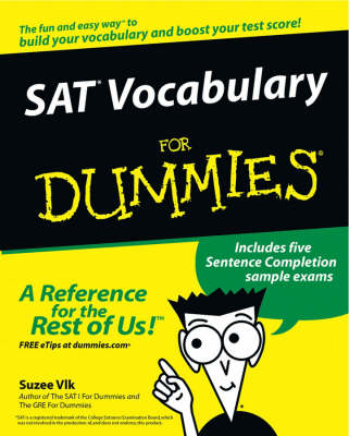 SAT Vocabulary for Dummies (BOK)
