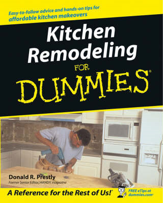 Kitchen Remodeling for Dummies (BOK)