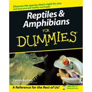 Reptiles and Amphibians for Dummies (BOK)