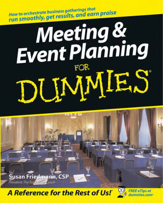Meeting and Event Planning For Dummies (BOK)