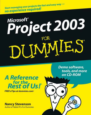 Microsoft Project 2003 For Dummies (BOK)