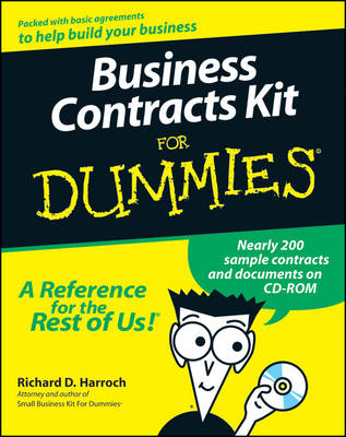 Business Contracts Kit for Dummies (BOK)