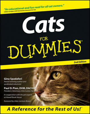 Cats For Dummies (BOK)