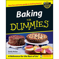 Baking For Dummies (BOK)