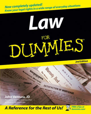 Law for Dummies, 2nd Edition (BOK)