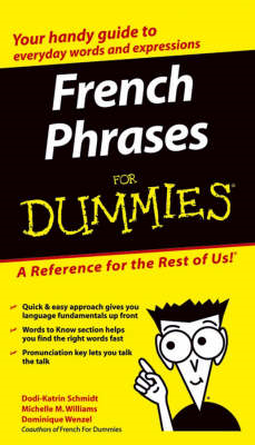 French Phrases For Dummies (BOK)