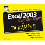 Excel 2003 Just the Steps For Dummies (BOK)