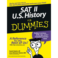 SAT II U.S. History For Dummies (BOK)