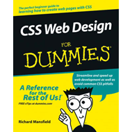 CSS Web Design For Dummies (BOK)