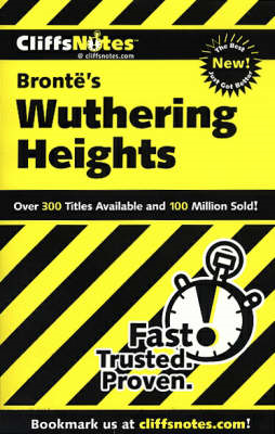 CliffsNotes Bronte's Wuthering Heights (BOK)
