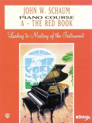 Piano Course a Book (Red) (BOK)