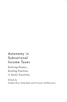Autonomy in Subnational Income Taxes (BOK)
