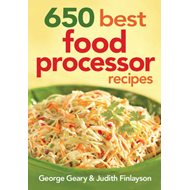 650 Best Food Processor Recipes (BOK)